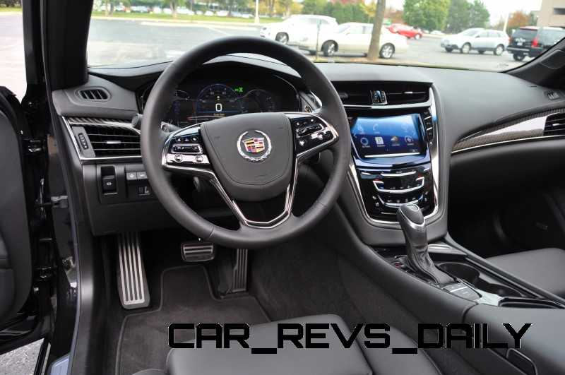 11111111117 2014 Cadillac CTS4 2.0T  -CarRevsDaily.com