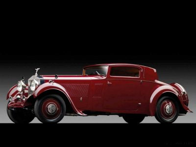 1933 Rolls-Royce Phantom II Continental Sports Coupé by Freestone & Webb1