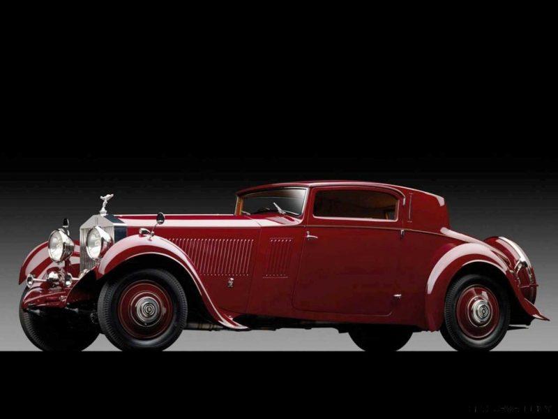 1933 Rolls-Royce Phantom II Continental Sports Coupé by Freestone & Webb1