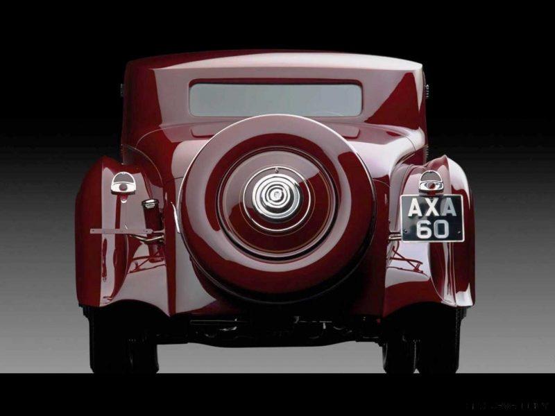 1933 Rolls-Royce Phantom II Continental Sports Coupé by Freestone & Webb14