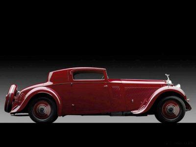 1933 Rolls-Royce Phantom II Continental Sports Coupé by Freestone & Webb5