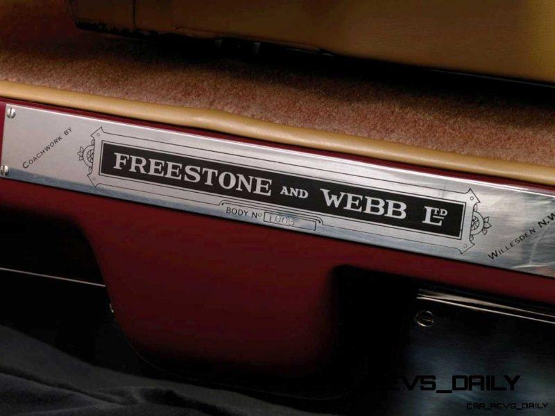 1933 Rolls-Royce Phantom II Continental Sports Coupé by Freestone & Webb8