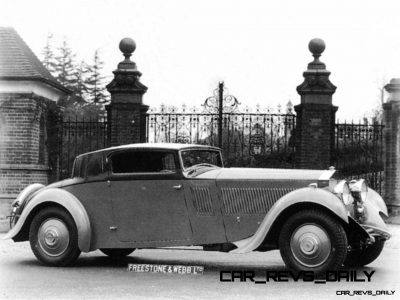1933 Rolls-Royce Phantom II Continental Sports Coupé by Freestone & Webb15