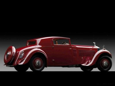 1933 Rolls-Royce Phantom II Continental Sports Coupé by Freestone & Webb2