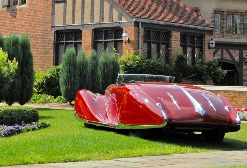 1939 Delahaye 165 V-12 Cabriolet at Mullin Auto Museum10