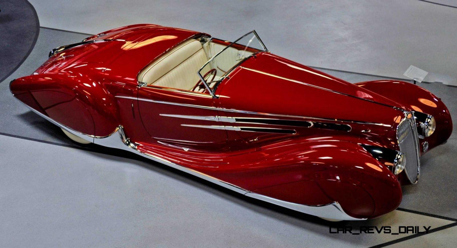 1939 Delahaye 165 V-12 Cabriolet at Mullin Auto Museum13