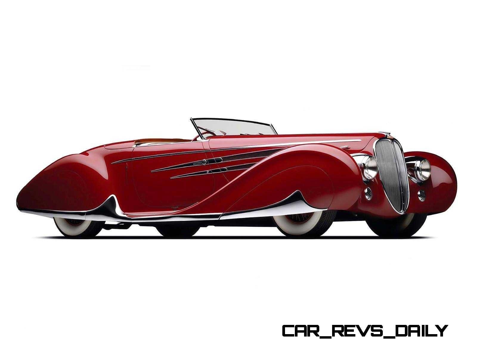 1939 Delahaye 165 V-12 Cabriolet at Mullin Auto Museum17
