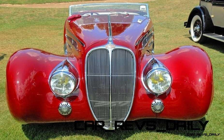 1939 Delahaye 165 V-12 Cabriolet at Mullin Auto Museum8
