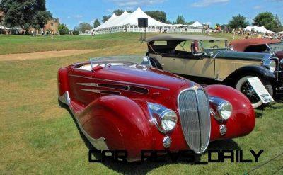 1939 Delahaye 165 V-12 Cabriolet at Mullin Auto Museum9