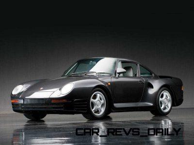 1988 Porsche 959 Komfort RM Auctions DD 20131