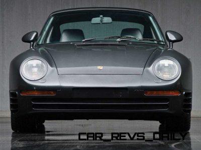 1988 Porsche 959 Komfort RM Auctions DD 201319