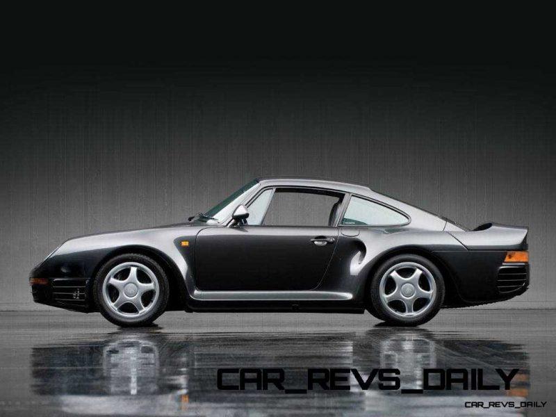 1988 Porsche 959 Komfort RM Auctions DD 20135