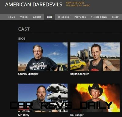 awesome car tv show american daredevils on history channel. Black Bedroom Furniture Sets. Home Design Ideas