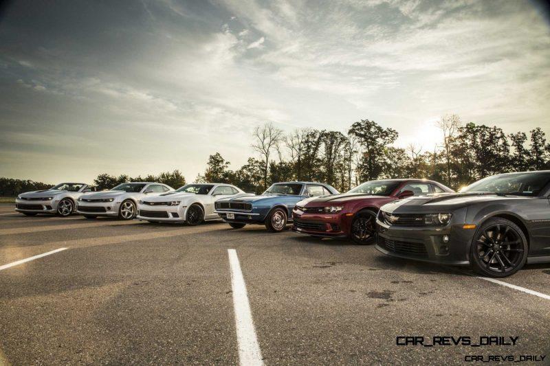 Chevrolet Camaro Lineup