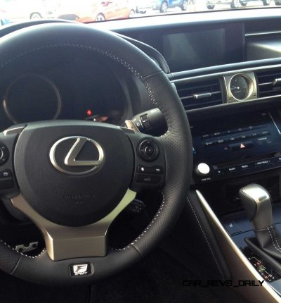 2014 Lexus IS350 AWD F Sport - First-Drive Photos12