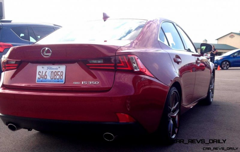 2014 Lexus IS350 AWD F Sport - First-Drive Photos6