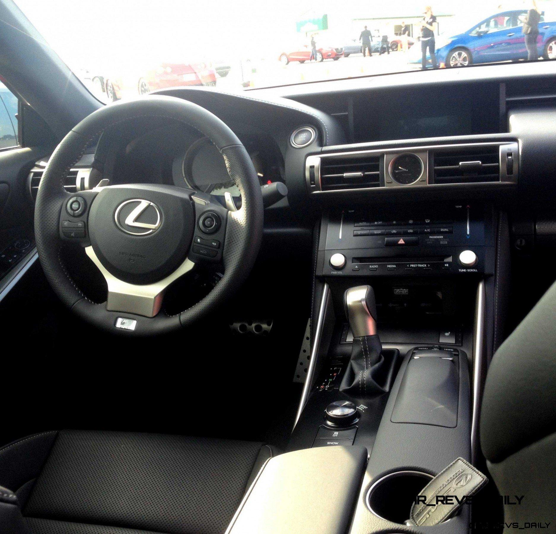 2014 Lexus IS350 AWD F Sport - First-Drive Photos8