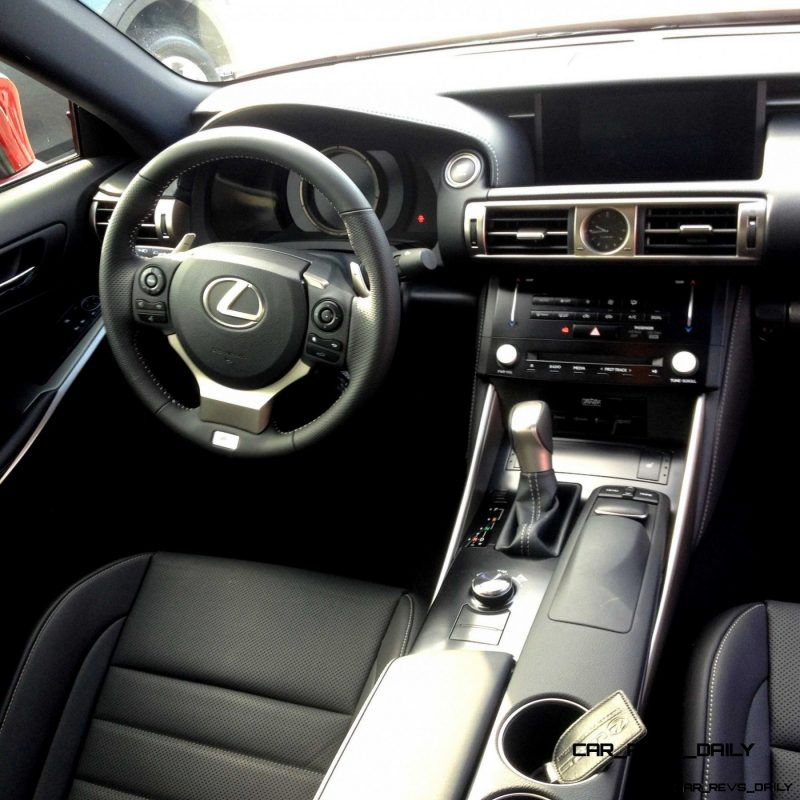 2014 Lexus IS350 AWD F Sport - First-Drive Photos9