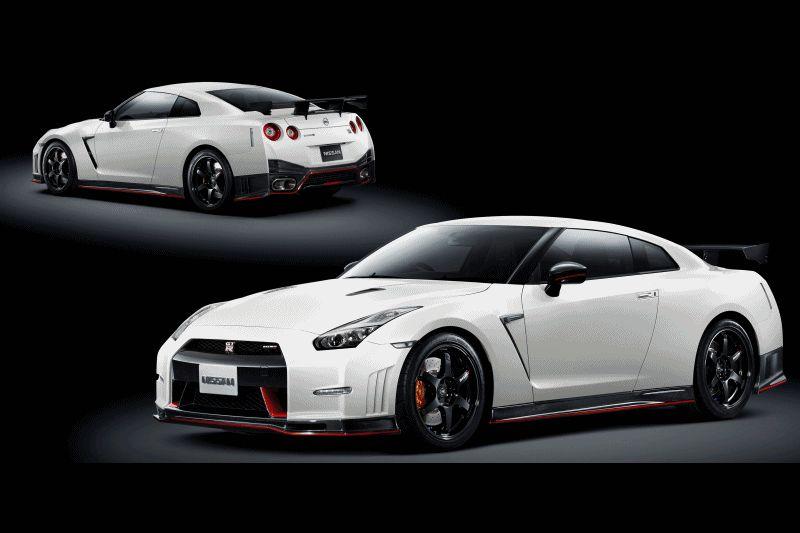 2014 Nissan GT-R Animated GIF