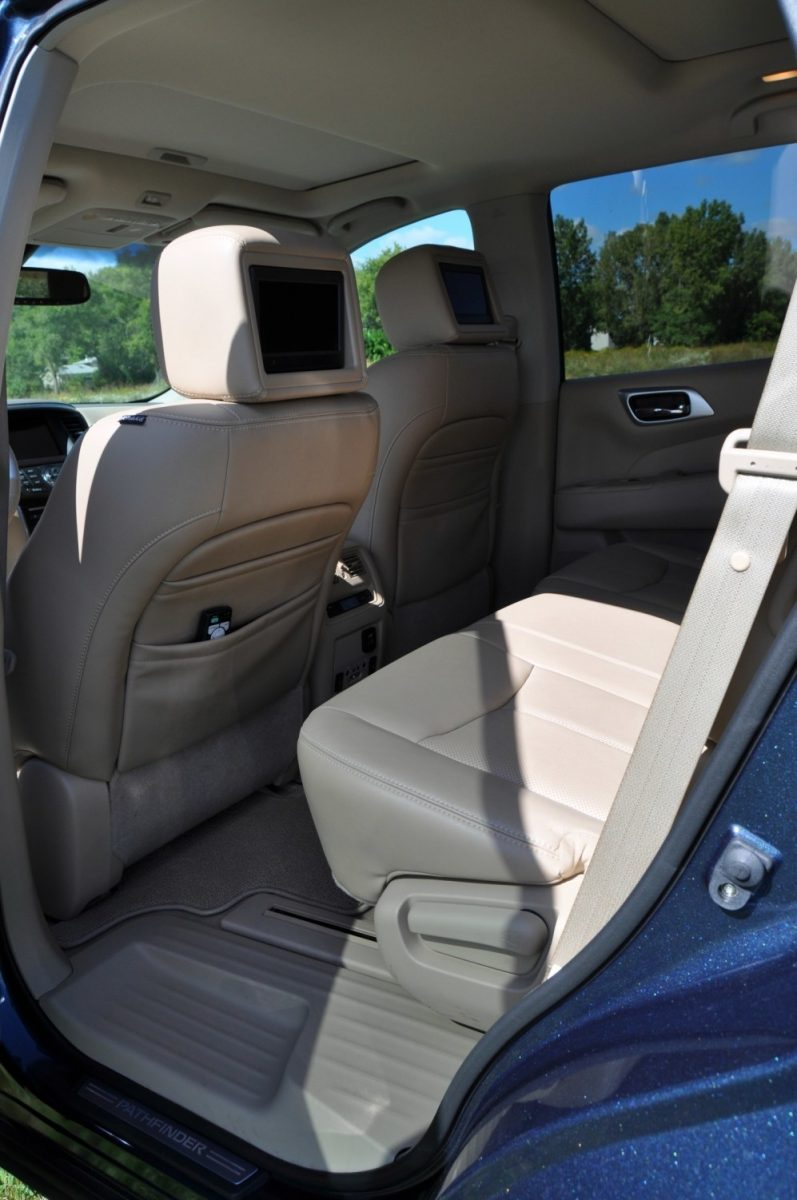 2014 Nissan Pathfinder Platinum Inside and Out