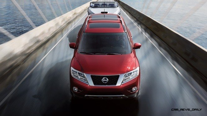 2014 Nissan Pathfinder Platinum Inside and Out105