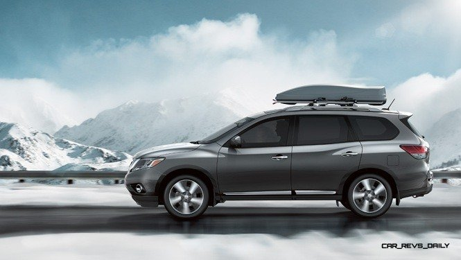 2014 Nissan Pathfinder Platinum Inside and Out106