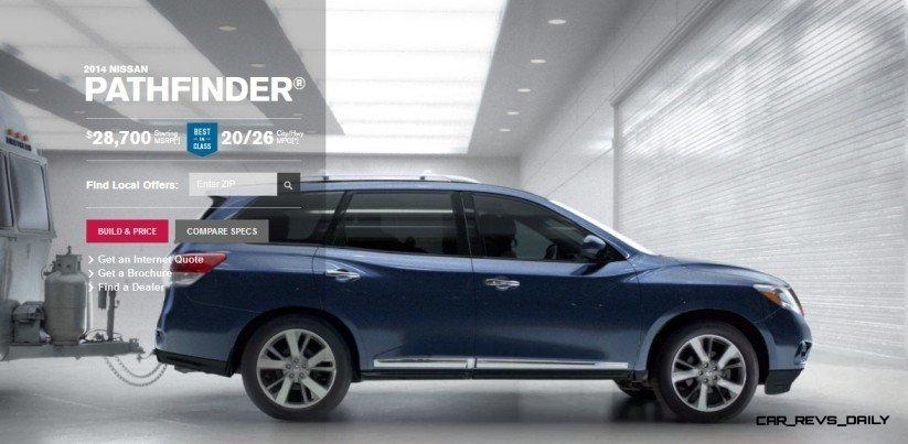 2014 Nissan Pathfinder Platinum Inside and Out21-crop2