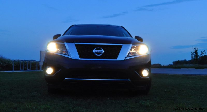 2014 Nissan Pathfinder Platinum Inside and Out67