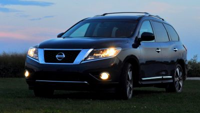 2014 Nissan Pathfinder Platinum Inside and Out70