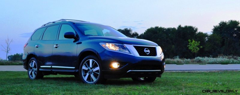 2014 Nissan Pathfinder Platinum Inside and Out72
