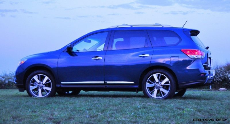 2014 Nissan Pathfinder Platinum Inside and Out75