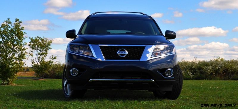 2014 Nissan Pathfinder Platinum Inside and Out83