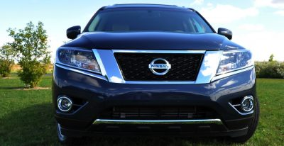2014 Nissan Pathfinder Platinum Inside and Out89