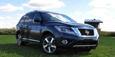 2014 Nissan Pathfinder Platinum Inside and Out91