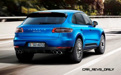 2014 Porsche Macan Turbo and Macan S - Official Debut Photos1