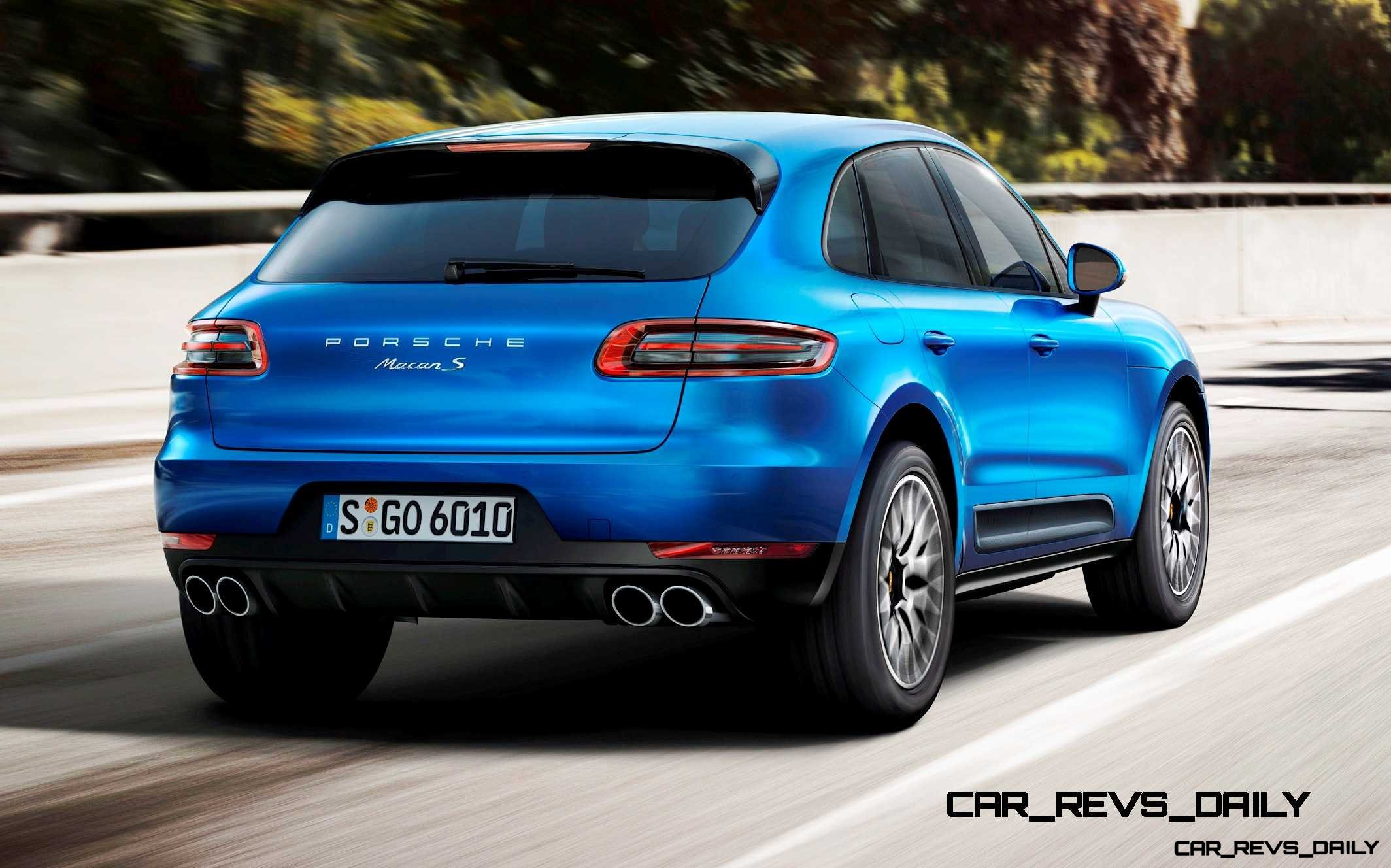 2014 porsche macan turbo and macan s official debut photos1. Black Bedroom Furniture Sets. Home Design Ideas