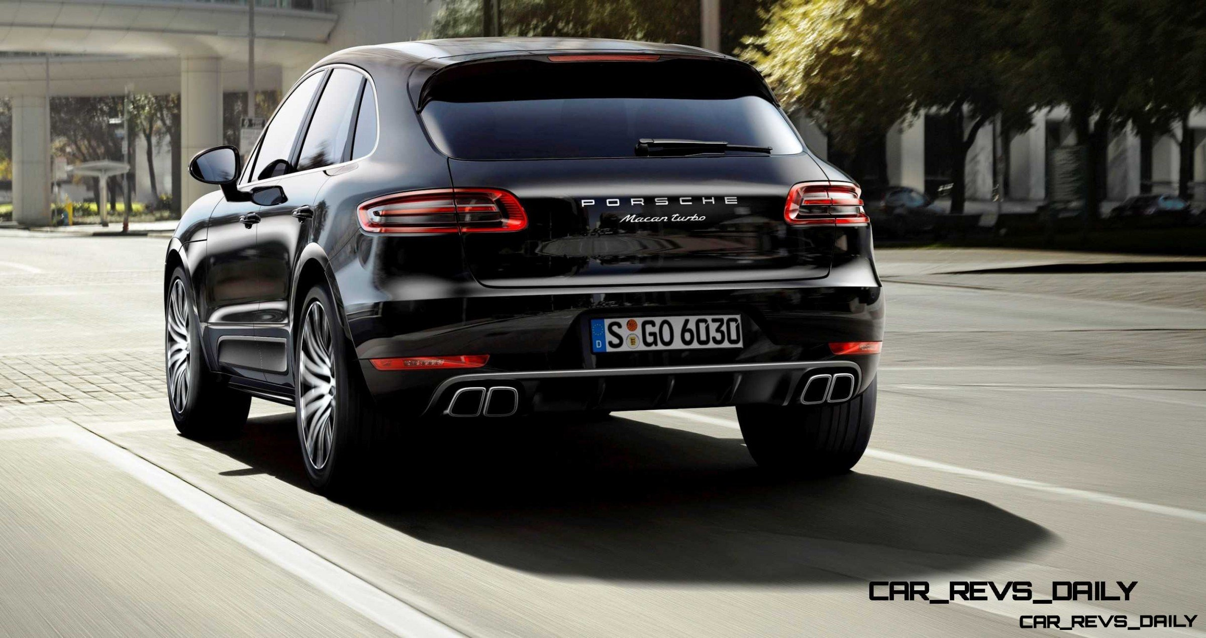 2014 porsche macan turbo and macan s official debut photos12. Black Bedroom Furniture Sets. Home Design Ideas