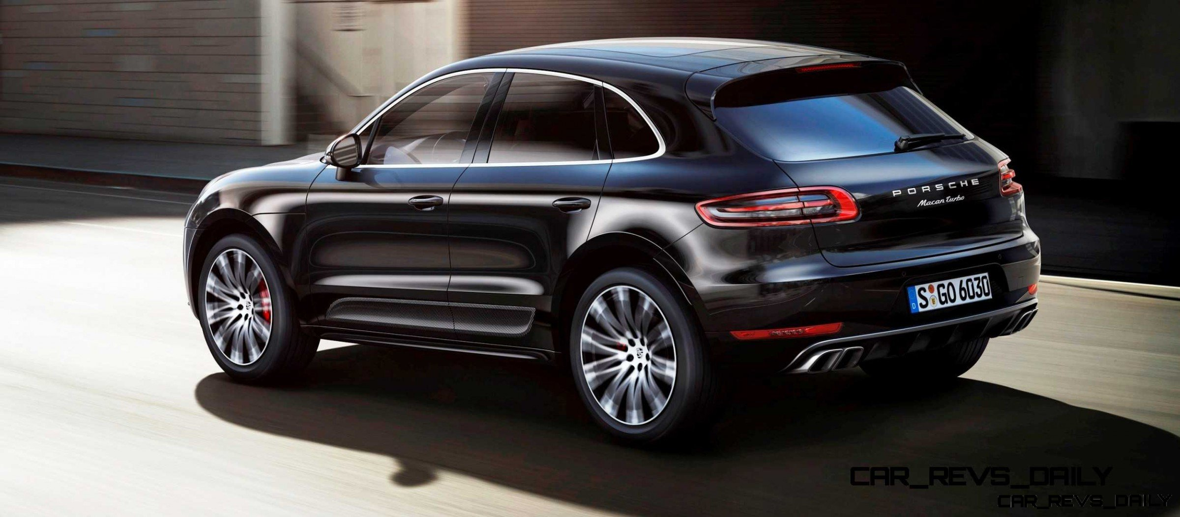 2014 porsche macan turbo and macan s official debut photos13. Black Bedroom Furniture Sets. Home Design Ideas