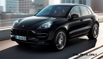 2014 Porsche Macan Turbo and Macan S - Official Debut Photos5