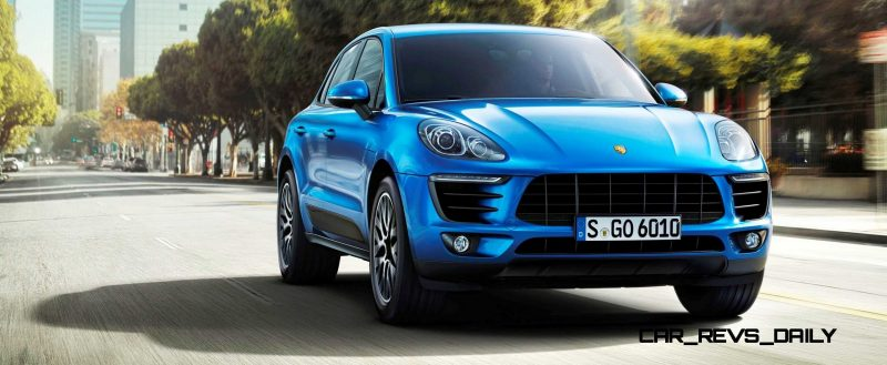 2014 Porsche Macan Turbo and Macan S - Official Debut Photos8