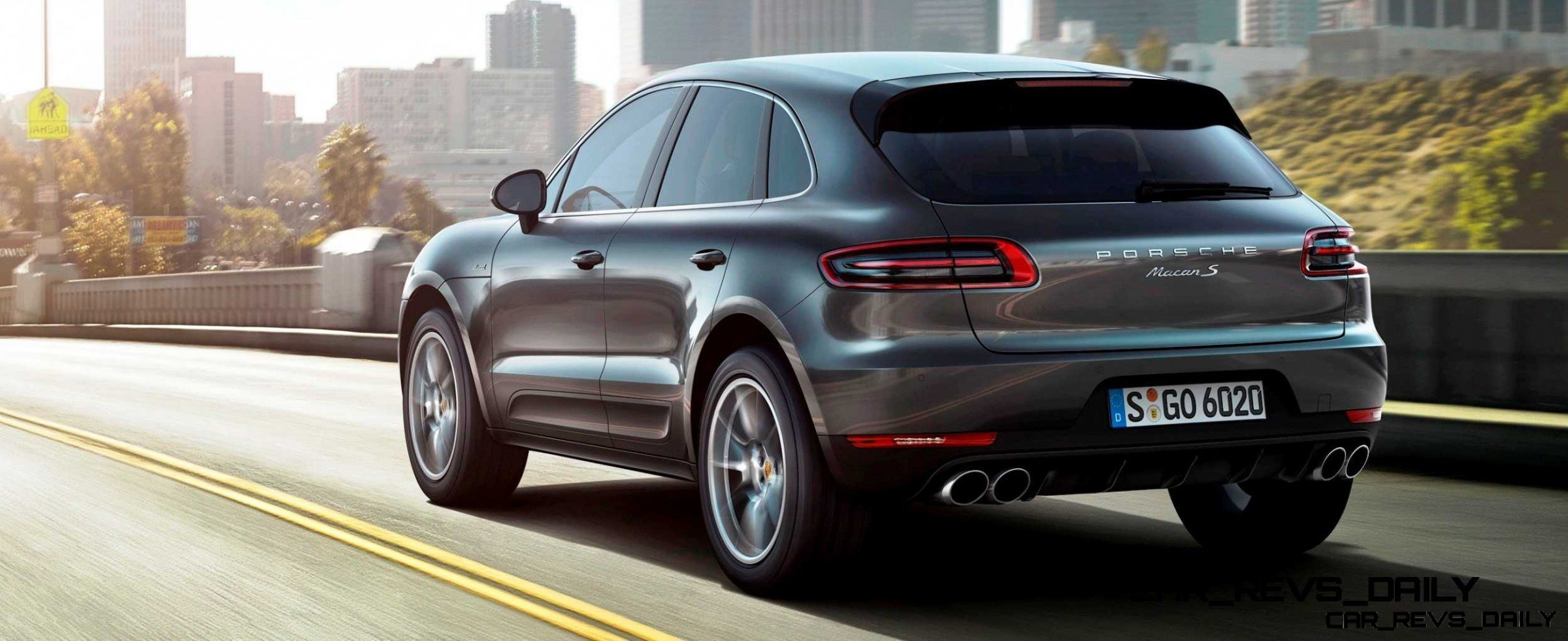 2014 porsche macan turbo and macan s official debut photos9. Black Bedroom Furniture Sets. Home Design Ideas