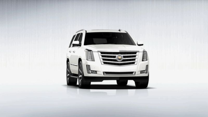 2015 Cadillac Escalade Animation