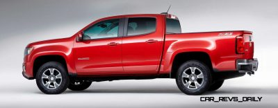 2015 Chevrolet Colorado Z71 – Interior Gallery