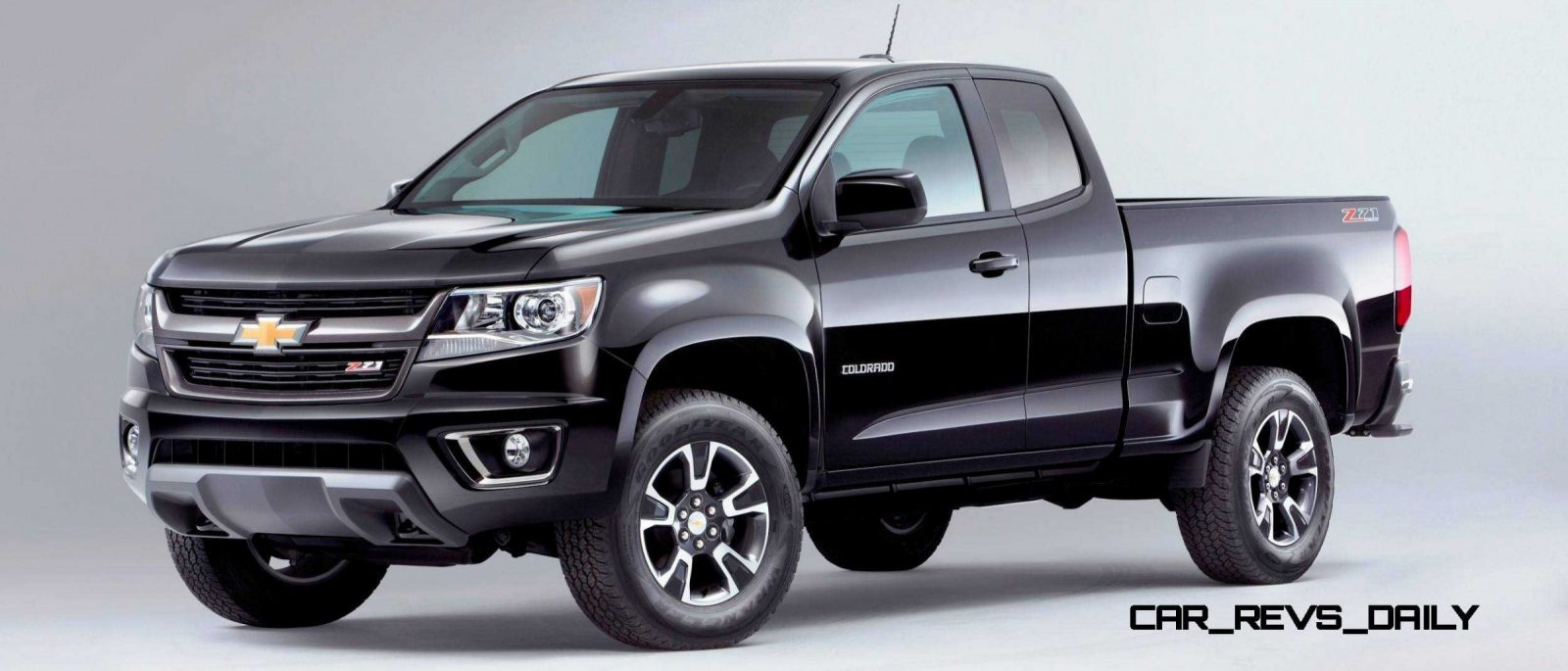 hot new trucks 2015 chevrolet colorado z71 brings cool style big power car revs. Black Bedroom Furniture Sets. Home Design Ideas