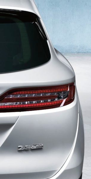 2015 Lincoln MKC Crossover - A Cool Mix of Infiniti and Audi1