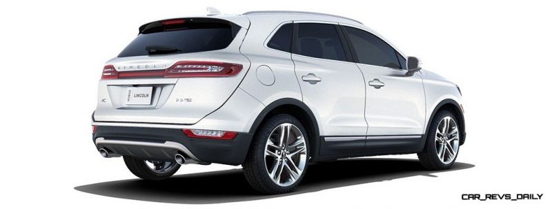 2015 Lincoln MKC Crossover - A Cool Mix of Infiniti and Audi123