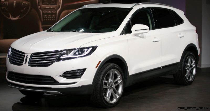 The all-new 2015 Lincoln MKC, Small Premium Utility Vehicle, on November 13, 2013 in New York City