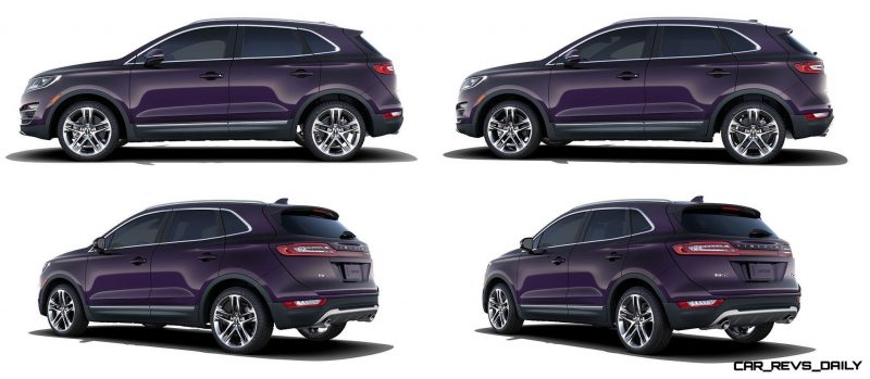 2015 Lincoln MKC Crossover - A Cool Mix of Infiniti and Audi96