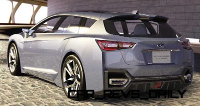 2015 Subaru Legacy Concept Directly Previews Next LGT1
