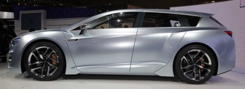 2015 Subaru Legacy Concept Directly Previews Next LGT10